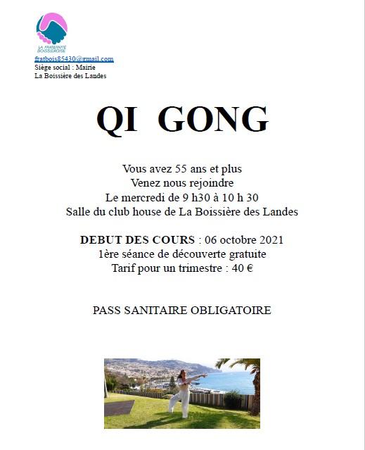 affiche qi gong