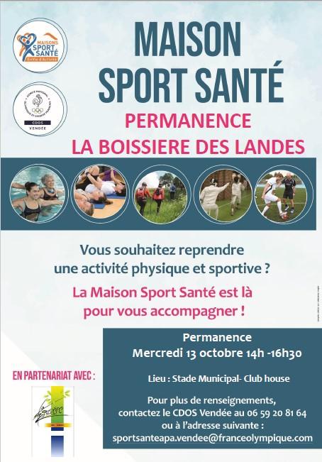 affiche sport santé